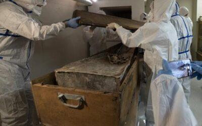 Communiqué : Fouille du tombeau présumé de Montaigne